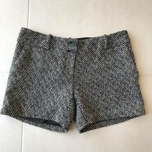 The Limited Drew Fit Wool Blend Tweed Shorts